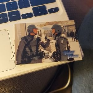 Whiskey outpost starship troopers card